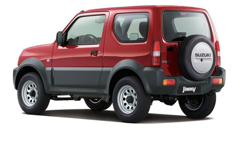 Suzuki Jimny   Petrol 1.3   4x4    Manual   Unlimited Mileage  